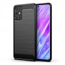 Husa Samsung Galaxy S20 Carbon TPU, Black