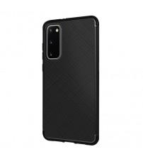 Husa Samsung Galaxy S20 Gel TPU Fiber, Black