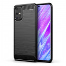 Husa Samsung Galaxy S20 Plus Carbon TPU, Black