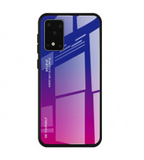 Husa Samsung Galaxy S20 Gradient Glass, Blue-Purple