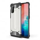 Husa Samsung Galaxy S20 Rigida Hybrid Shield, Silver