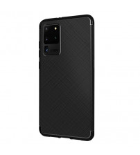 Husa Samsung Galaxy S20 Ultra Gel TPU Fiber, Black