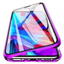 Husa Samsung Galaxy S21 Ultra Magnetic 360 (fata+spate sticla), Purple