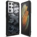 Husa Samsung Galaxy S21 Ultra originala RINGKE Fusion X Camo, Black