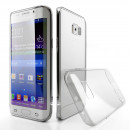 Husa Samsung Galaxy S6 Edge Slim TPU, Transparenta