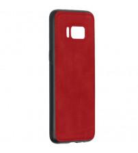 Husa Samsung Galaxy S8 Denim Magnet TPU, Red