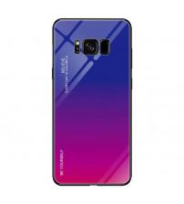 Husa Samsung Galaxy S8 Gradient Glass, Blue-Purple