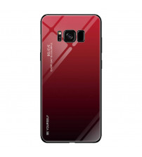 Husa Samsung Galaxy S8 Gradient Glass, Red-Black