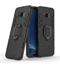 Husa Samsung Galaxy S8 Magnet Slim Ring, Black