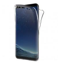 Husa Samsung Galaxy S8 TPU Full Cover 360 (fata+spate), Transparenta