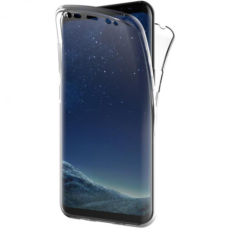 Husa Samsung Galaxy S8 TPU Full Cover 360, Transparenta