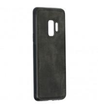 Husa Samsung Galaxy S9 Denim Magnet TPU, Black