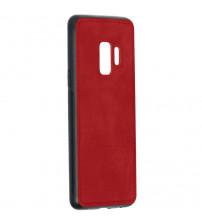 Husa Samsung Galaxy S9 Denim Magnet TPU, Red