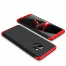 Husa Samsung Galaxy S9 GKK Full Cover 360, Black-Red