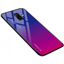 Husa Samsung Galaxy S9 Gradient Glass, Blue-Purple