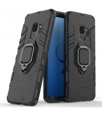 Husa Samsung Galaxy S9 Magnet Slim Ring, Black