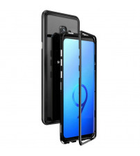 Husa Samsung Galaxy S9, Magnetic Clear-Black