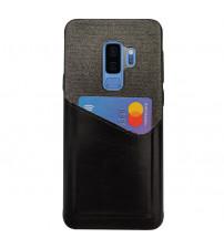 Husa Samsung Galaxy S9 Plus Card Pocket, Black
