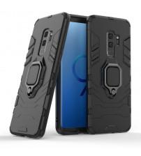 Husa Samsung Galaxy S9 Plus Magnet Slim Ring, Black