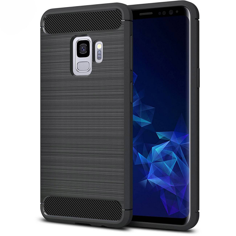 Husa Samsung Galaxy S9 Plus Slim Armor TPU, Black - TemperedGlass.ro