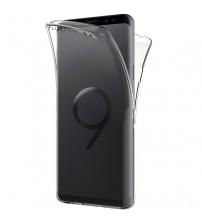 Husa Samsung Galaxy S9 TPU Full Cover 360 (fata+spate), Transparenta