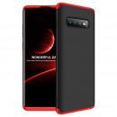 Husa Samsung S10 Plus GKK Full Cover 360, Black-Red
