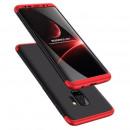 Husa Samsung S9 Plus GKK Full Cover 360, Black-Red