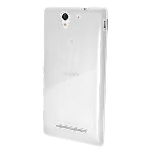 Husa Sony Xperia C3 transparenta, Huse Sony - TemperedGlass.ro