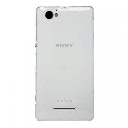 Husa Sony M4 / M4 Aqua transparenta, Huse Sony - TemperedGlass.ro