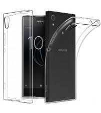 Husa Sony Xperia XA1 Slim TPU, Transparenta