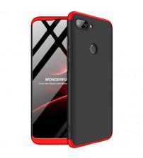 Husa Xiaomi Mi 8 Lite GKK Full Cover 360, Black-Red