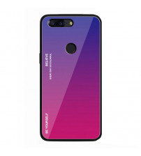 Husa Xiaomi Mi 8 Lite Gradient Glass, Blue-Purple