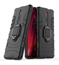 Husa Xiaomi Mi 9T Magnet Slim Ring, Black