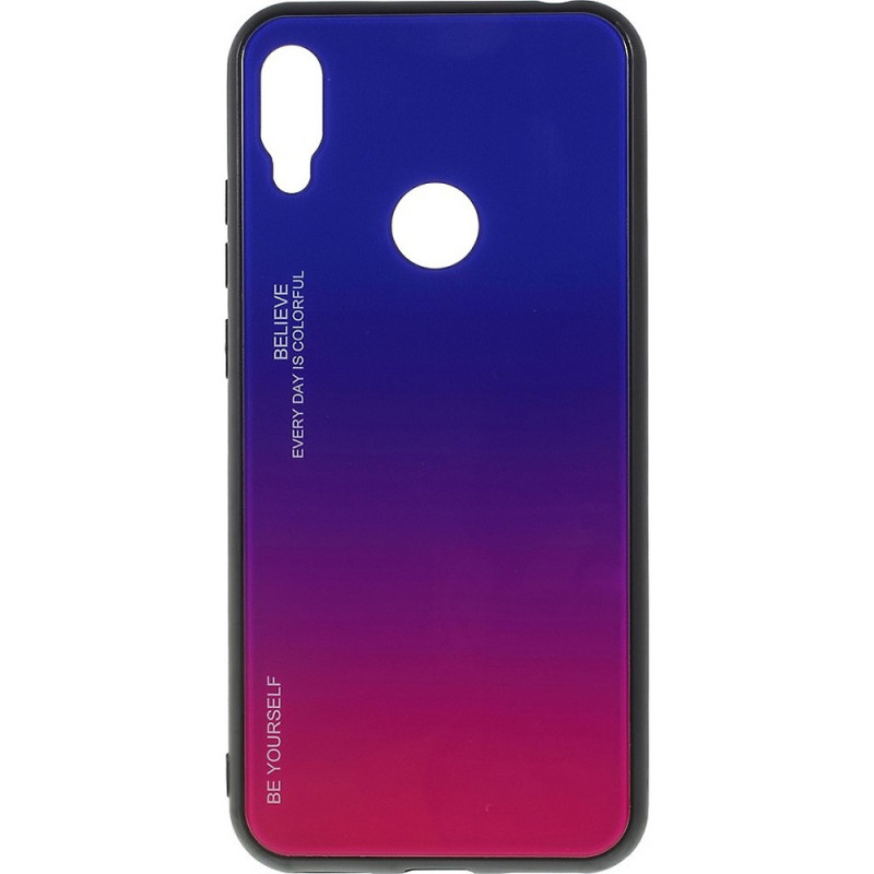 Husa Xiaomi Mi A2 Gradient Glass, Blue-Purple - TemperedGlass.ro