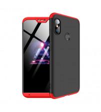 Husa Xiaomi Mi A2 Lite GKK Full Cover 360, Black-Red