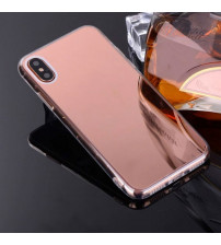 Husa Xiaomi Mi 8 Lite Oglinda Luxury, Rose Gold
