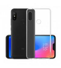 Husa Xiaomi Mi A2 Lite Slim TPU, Transparenta