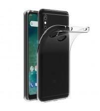 Husa Xiaomi Mi A2 Slim TPU, Transparenta