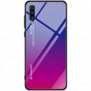 Husa Xiaomi Mi A3 Gradient Glass, Blue-Purple