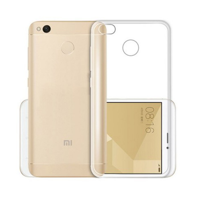 Husa Xiaomi Redmi 4X transparenta, Huse Xiaomi - TemperedGlass.ro