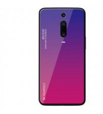 Husa Xiaomi Mi 9T Gradient Glass, Blue-Purple