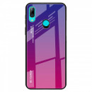 Husa Xiaomi Redmi Note 7 Gradient Glass, Blue-Purple