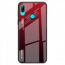 Husa Xiaomi Redmi Note 7 Gradient Glass, Red-Black