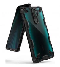 Husa Xiaomi Redmi Note 8 Pro originala RINGKE Fusion X, Black