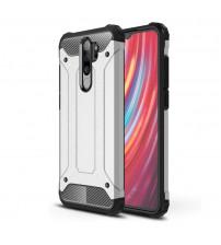 Husa Xiaomi Redmi Note 8 Pro Rigida Hybrid Shield, Silver