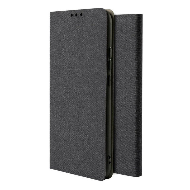 Husa Xiaomi Redmi Note 8 Pro tip carte Fabric, Black