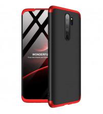 Husa Xiaomi Redmi Note 9 GKK, Black-Red