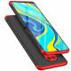 Husa Xiaomi Redmi Note 9 Pro GKK, Black-Red