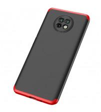 Husa Xiaomi Redmi Note 9T GKK, Black-Red