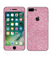 Skin fashion GLITTER pentru iPhone 7 Plus - Pink